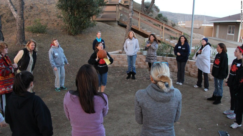 "One of the activities is ""circles,"" small groups of women talking about various topics over the course of the weekend."
