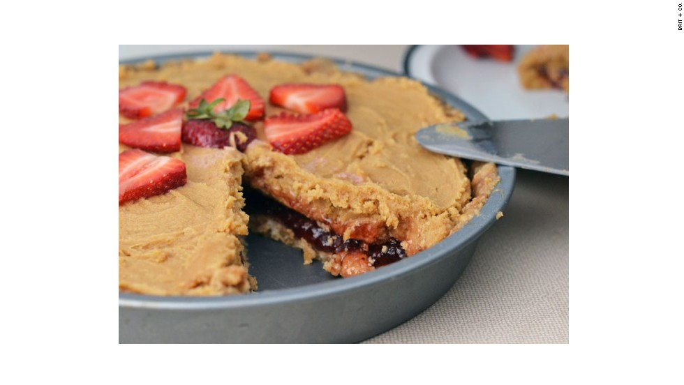 "For those less inclined to do actual baking, this <a href=""http://www.brit.co/pbj-pie/"" target=""_blank"">peanut-butter-and-jelly pie</a> requires no use of the oven."