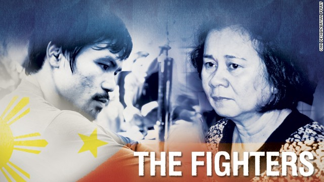 Image to go with The Fighters series of stories on CNN International