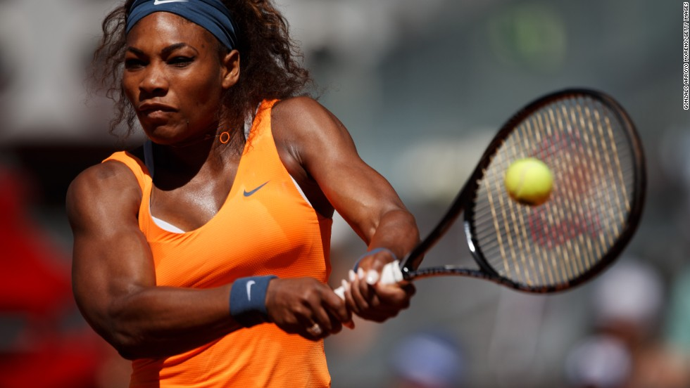 Defending champion Serena Williams will seek to retain her No. 1 ranking by beating Sharapova for the 12th consecutive time in the final.