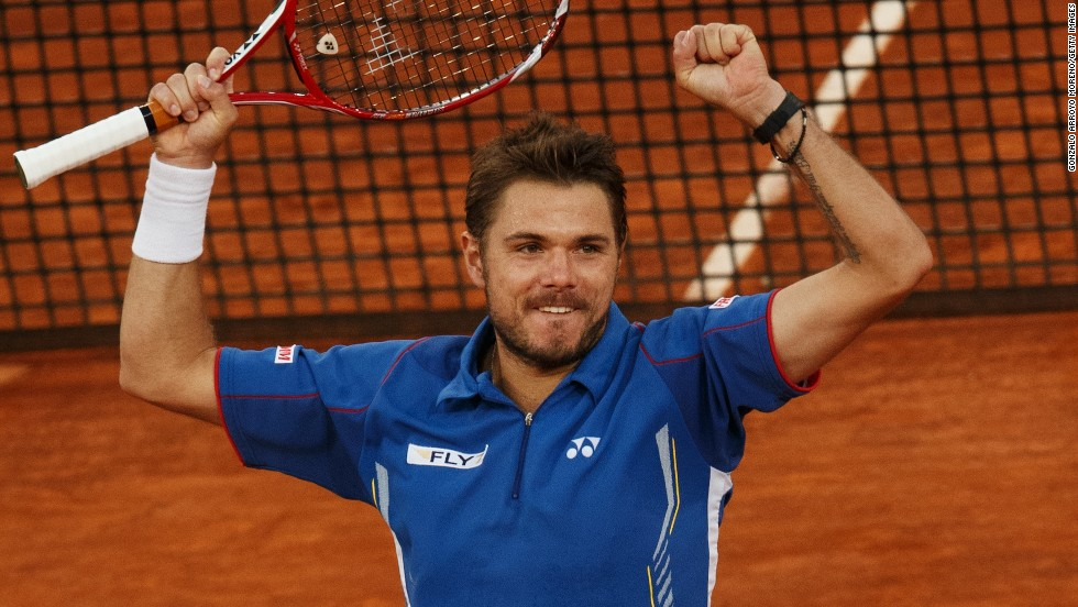 Nadal will next face Swiss 15th seed Stanislas Wawrinka, who upset world No. 6 Tomas Berdych of the Czech Republic in three sets in the second semifinal at the Caja Magica.