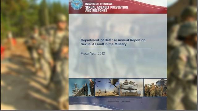 Sexual assaults rising in the military