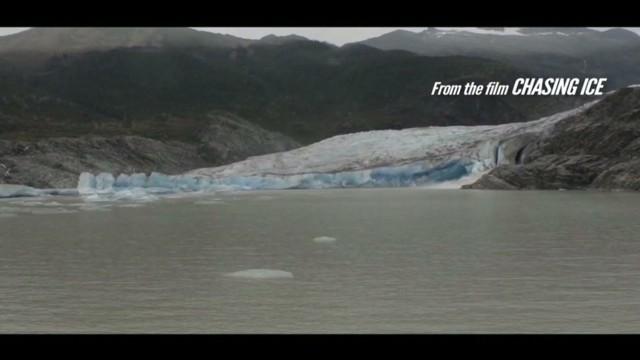 Glaciers melting around the world