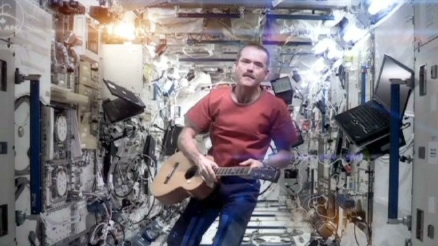 Ground control to astronaut Chris