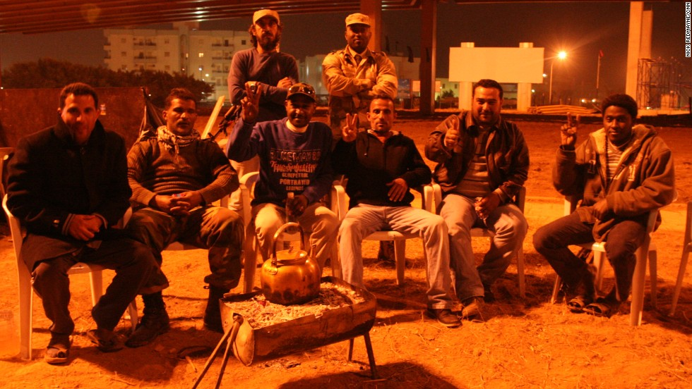 Libyans drink coffee and tea during social gatherings. Alcohol is banned in the country, but it's an open secret that cars of young men parked in out of the way places are often de facto drinking dens.