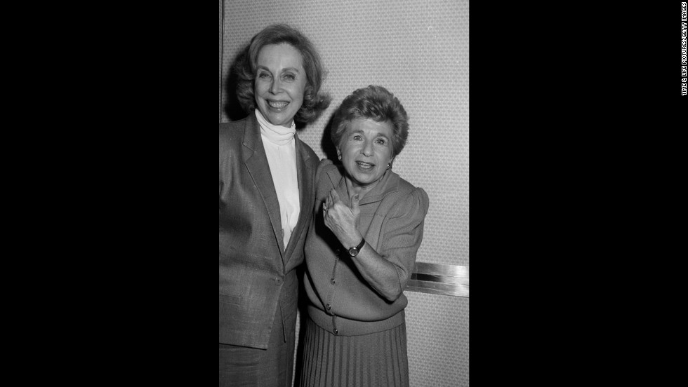 Brothers poses with popular sex therapist Dr. Ruth Westheimer.