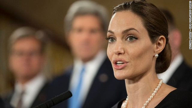 Jolie: 'I've decided to be proactive'