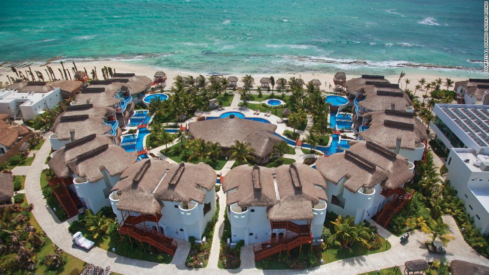 "<a href=""http://karismahotels.com/HotelsResorts/ForAdultsOnly/ElDoradoCasitasRoyale"" target=""_blank"">El Dorado Casitas Royale</a> on Mexico's Riviera Maya offers private casitas for couples."