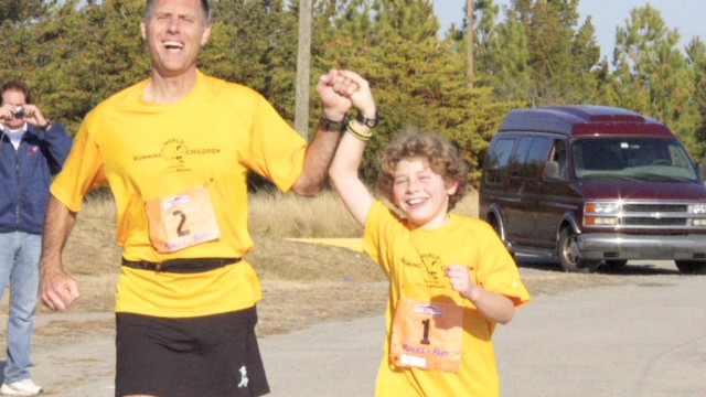 Young boy to run seven marathons
