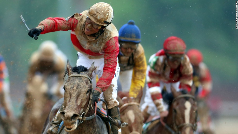 He has already won the world's richest race, the Dubai World Cup, and is now the favorite to win Preakness. Yet growing up in the Dominican Republic, he had very different sporting dreams...