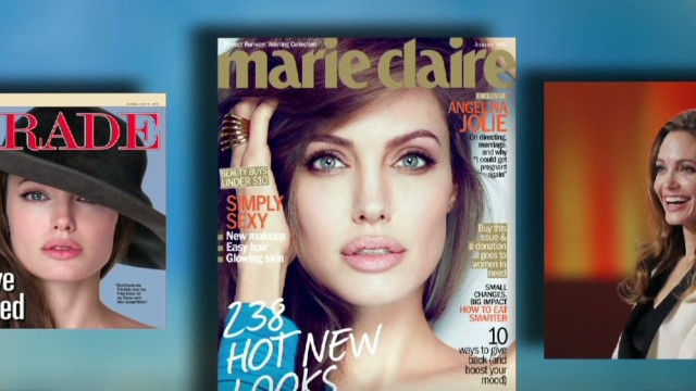 Angelina Jolie reveals double mastectomy