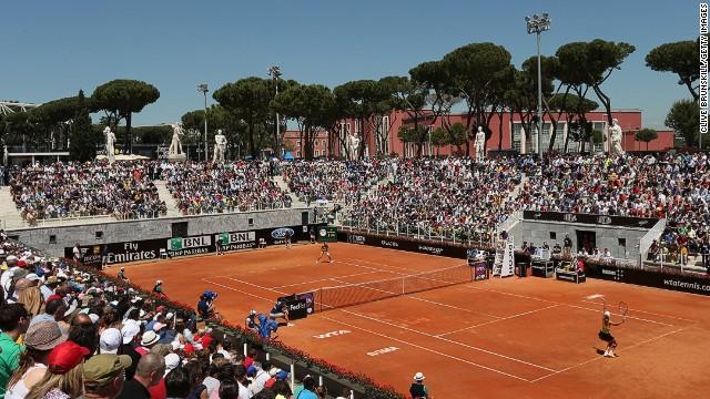 Denmark's Caroline Wozniacki suffered yet another first round exit as she was beaten by Bojana Jovanovski in Rome.