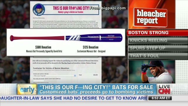 Bleacher Report Update - 'Boston Strong' bats sold by David Ortiz_00004926.jpg
