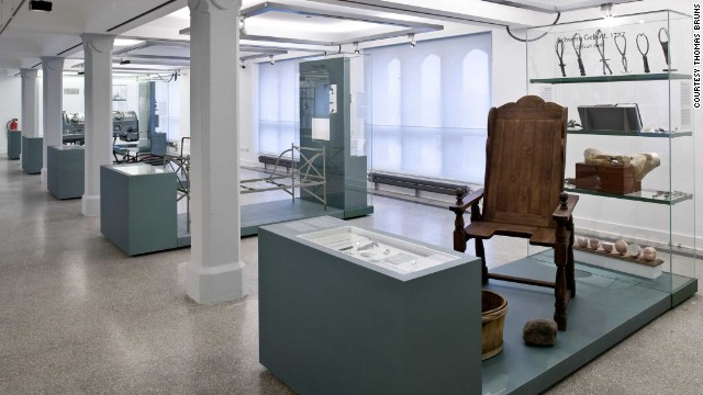 Just 1,800 specimens of the museum's original 23,000 survived World War II bombings.