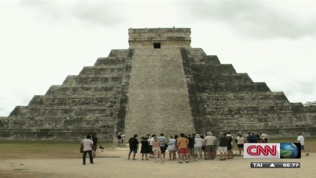 Mayan pyramid bulldozed to make gravel