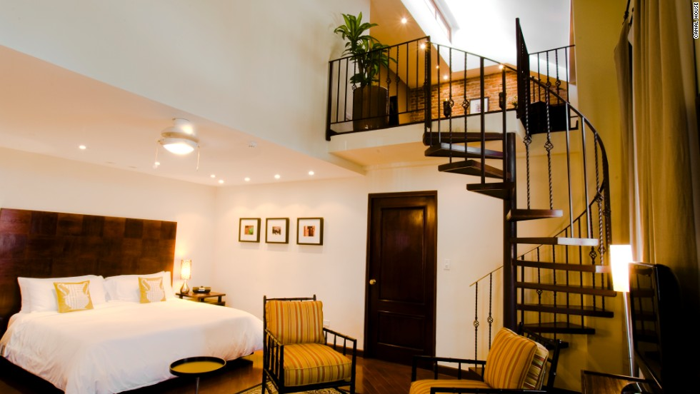 In the old town of Casco Viejo, the Canal House has just three suites (from $320 per night) set around a large wooden staircase. The high-end guesthouse is owned by two sisters and loved for its quirky charm and homemade cooking.