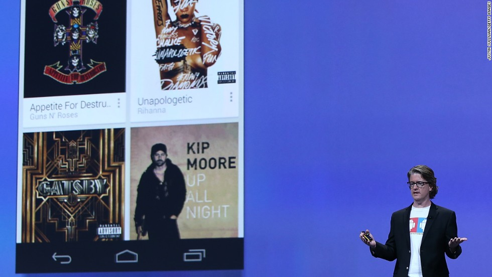 Google announced its own streaming service, Google Play Music All Access, in May. It combines the millions of songs in the Google library with users' own music collections, which can be uploaded to Google Play. The service works on the Web and on mobile devices.