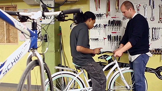 Used bikes change kids' lives
