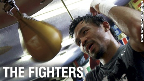 Manny Pacquiao is tackling human trafficking in his native Philippines. His role is revealed in the CNN documentary, The Fighters.