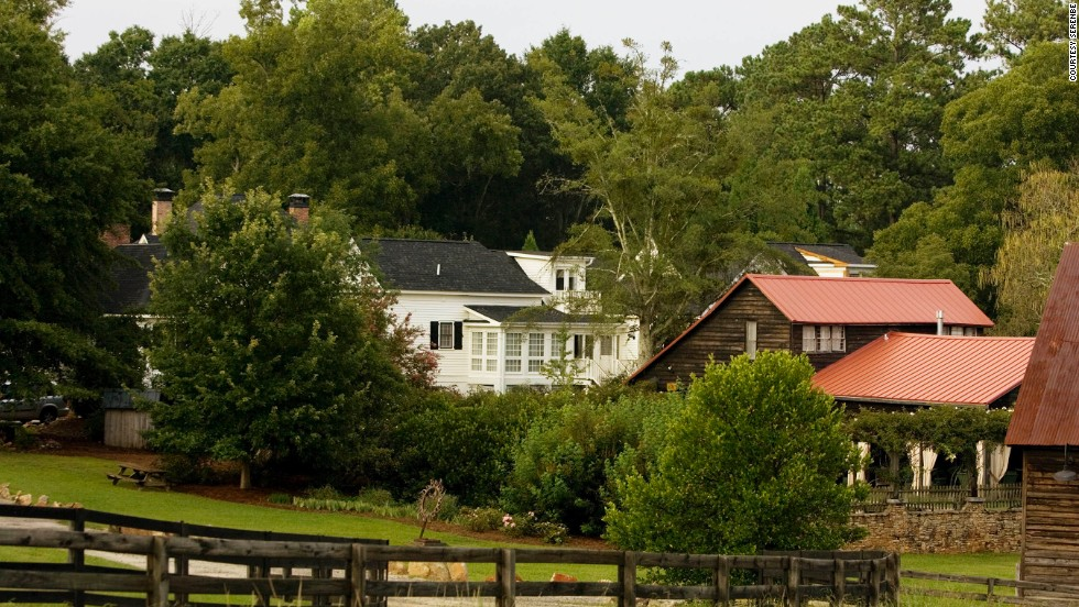 An environmentally sustainable community outside Atlanta, Serenbe has an inn, working farm, restaurants and outdoor adventures for the entire family.