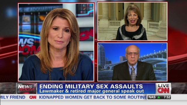 Ending military sex assaults