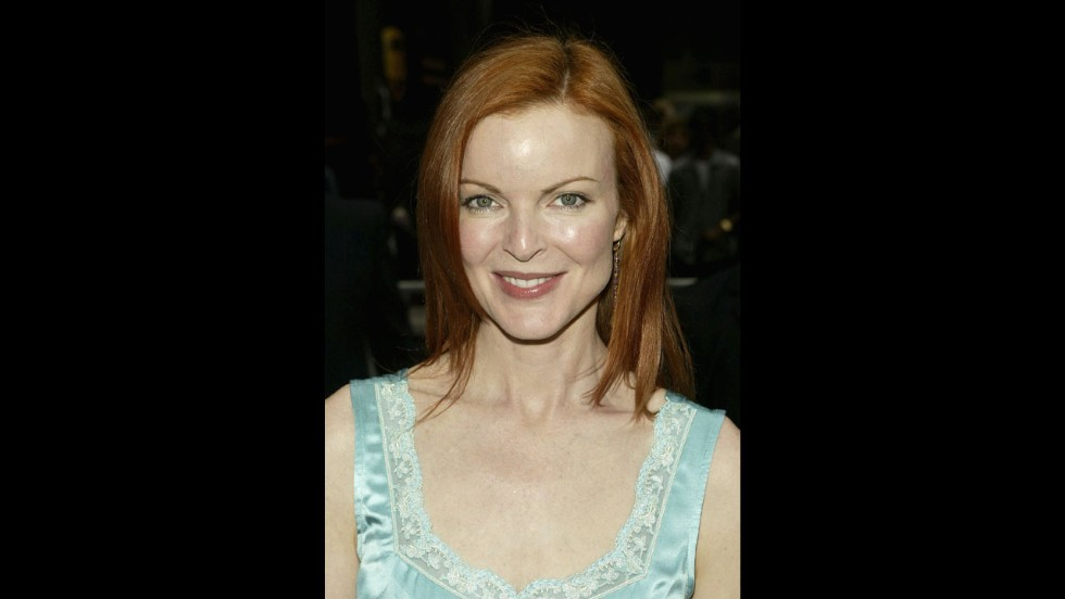 """Melrose Place"" fans can never forget the crazy that was Michael Mancini's mistress, Kimberly Shaw, portrayed by Marcia Cross."
