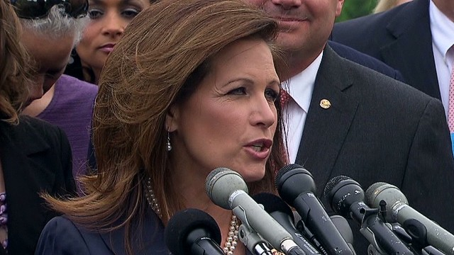 Bachmann: IRS scandal 'troubling'