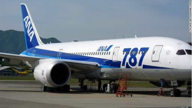 ANA is the largest operator of Boeing's 787 Dreamliner.