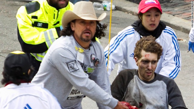 Jeff Bauman: The man behind famous Boston bomb photo