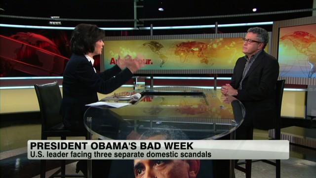 President Obama's bad week