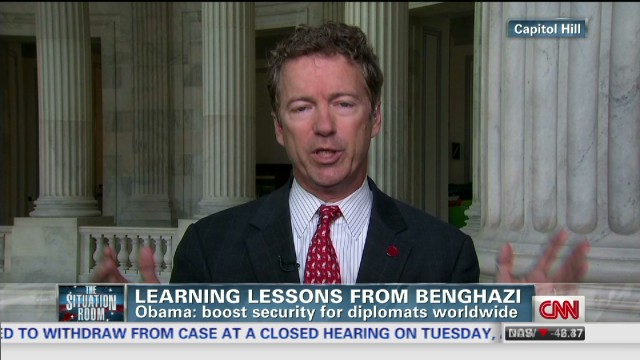 Paul: There was a Benghazi 'coverup'