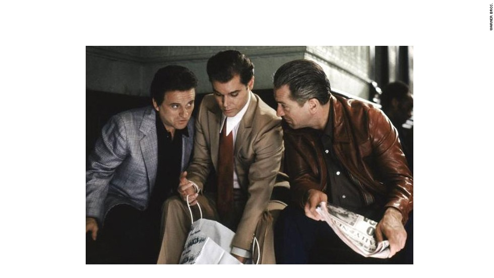 """Joe Pesci's Tommy DeVito in Martin Scorsese's 1990 classic """"Goodfellas"""" wasn't there to amuse, but he did that anyway. The short-tempered mobster also won over the Academy, which gave Pesci an Oscar for best supporting actor."""