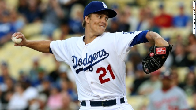 Zack Greinke of the Dodgers is back after breaking a collarbone in April. Could it be the start of an L.A. sports comeback?