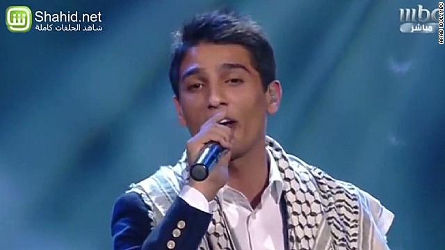 Palestinian 'Arab Idol' finalist sings