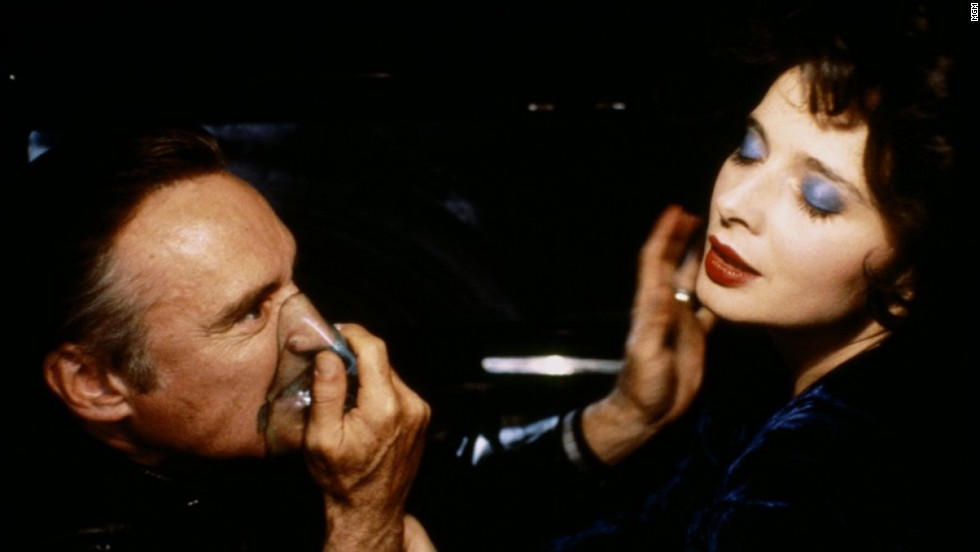 "<strong>""Blue Velvet"":</strong> Dennis Hopper stars as the profane sociopath Frank Booth, along with Isabella Rossellini as Dorothy Vallens in this cult classic written and directed by David Lynch. <strong>(Amazon Prime, Hulu) </strong>"