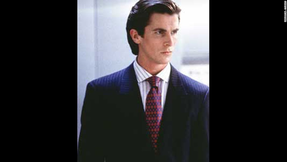 "Perhaps the only thing more frightening than Christian Bale's turn as well-dressed killing machine Patrick Bateman in 2000's ""American Psycho"" is the rumor that Bale <a href=""http://www.huffingtonpost.com/2009/10/22/christian-bales-american_n_329874.html"" target=""_blank"">drew inspiration for the part from Tom Cruise. </a>"