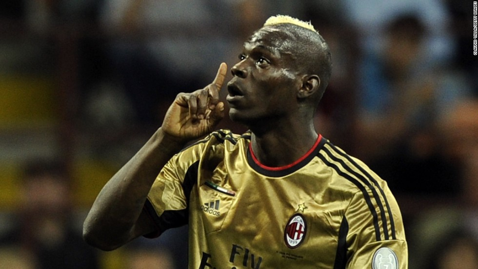 He's also been targeted by racists on many occasions during his time in Italian football. In May 2013, Balotelli told CNN he would leave the field of play if he suffered more racial abuse.