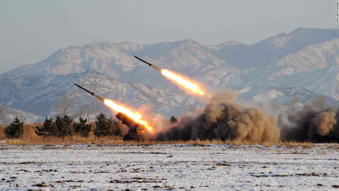 This undated file picture released by KCNA on January 5, 2009 shows an artillery unit conducting a drill at an undisclosed location in North Korea.