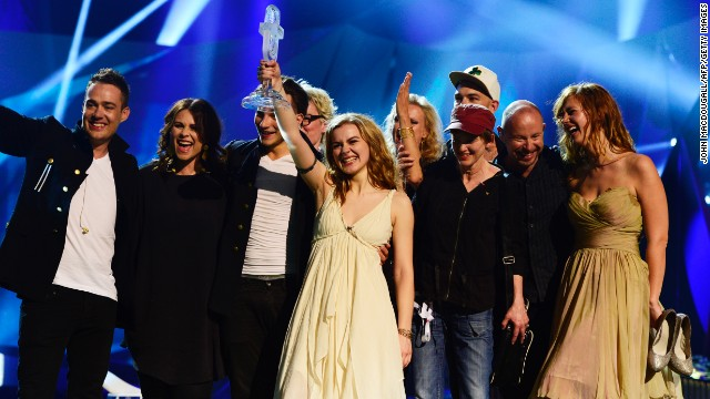 Denmark wins Eurovision Song Contest
