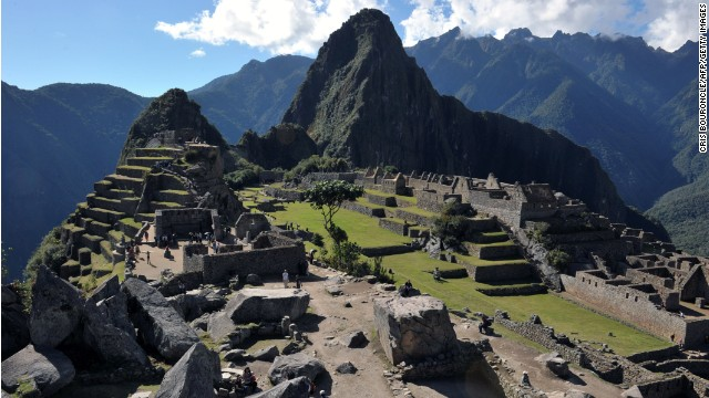 Machu Picchu leaves visitors breathless.