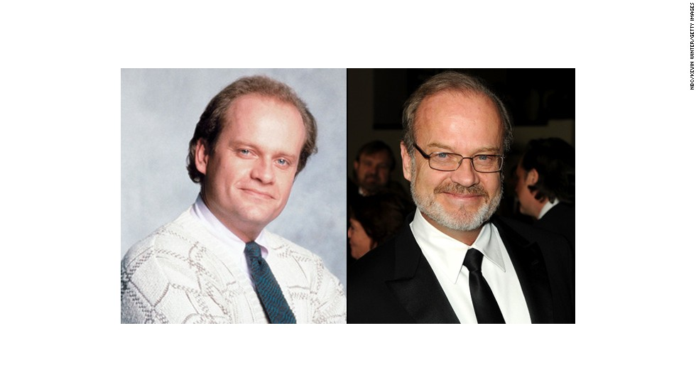 "Kelsey Grammer played Dr. Frasier Crane for another 11 years after ""Cheers"" in the spinoff ""Frasier"" while pursuing other work such as voicing Sideshow Bob on ""The Simpsons."" His last major TV role, as <a href=""http://marquee.blogs.cnn.com/2012/11/20/starz-cancels-kelsey-grammers-boss/?iref=allsearch"">Mayor Tom Kane on Starz's ""Boss,""</a> came to an end in 2012. That same year, <a href=""http://marquee.blogs.cnn.com/2012/07/13/while-you-were-working-263/?iref=allsearch"" target=""_blank"">Grammer welcomed a fifth child, a girl,</a> with his fourth wife, Kayte Walsh. In 2014, he'll voice the Tin Man in ""Legends of Oz: Dorothy's Return."""