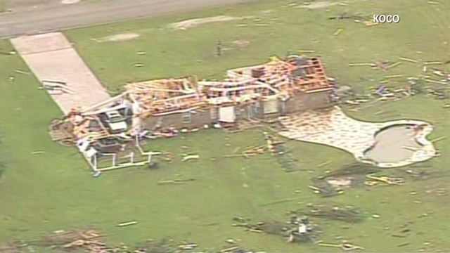 Tornadoes leave path of destruction