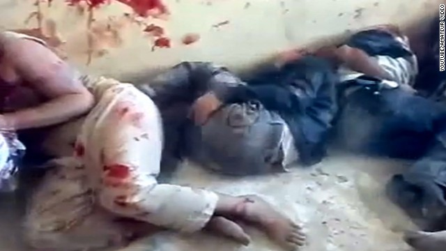 Graphic images show gruesome acts in Syria