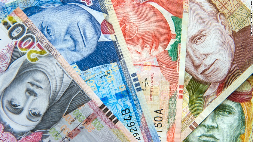 Travelers in less trafficked areas of the world often find businesses that won't take MasterCard or Visa, much less American Express. In general, Peruvians like their soles (the currency is the nuevo sol) in small denominations.