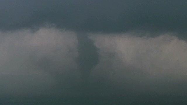 See tornado break up over Oklahoma