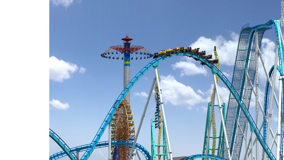 Having debuted in May, this $26 million steel shocker claims the world's highest inversion at the terrifying height of 170 feet (52 meters). Thrill seekers at an auction before the ride's debut bid to become one of its first 64 riders. The highest bid was $1,351.