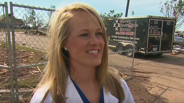 Doctors protected patients during twister