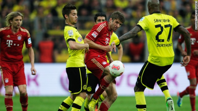 Borussia Dortmund and Bayern Munich will be facing off again in the Champions League final at Wembley.