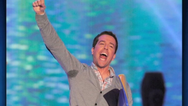 Ed Helms has some issues with one armpit