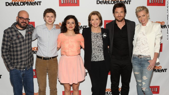 "Jason Bateman of Netflix's ""Arrested Development"" is up for best actor in a comedy."